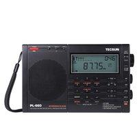Tecsun PL-660 Portable High Performances Tuning numérique Stéréo Radio FM AM Radio SW SSB Multi-Fonctions Digital Affichage