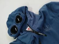 Erkek giyim tasarımcısı kapşonlu ceket moda üst uzun kollu kış erkek ceketleri