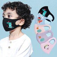 키즈 커버 입 마스크 호흡 보호구 방진 항균 빨 재사용 가능한 디자인 마스크를위한 패션 만화 3D 디자인 페이스 마스크 HH9-3002