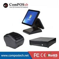 최고의 판매 지점 판매 시스템 80mm 열 프린터 5bills 및 8coins 현금 서랍 Sysytem PC