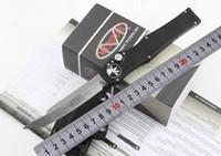 """Alta qualità Microtech Black Classic Halo V Tanto lama del coltello (4.6"""" raso) 150-4 singola azione auto tattico coltello da sopravvivenza Coltelli ingranaggi"""