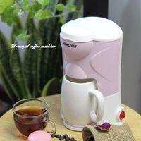Mini Cafeteira Máquina Individual Cup Espresso Cafeteiras 300W gotejamento cafeteiras elétrico automático Espresso Machine para Home