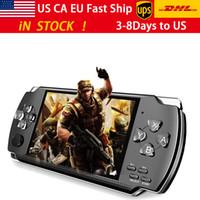 Видео Console X6 для PSP Game Handheld Retro Game 4.3-дюймовый экран игровой игровой плеер камера поддержки