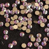 Nail Art Süslemeleri 2000nohf SS5 1440 ADET DIY Kristal AB Rhinestones El Sanatları için Düz Geri Düzeltme Tutkal 3D Dekorasyon