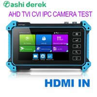 Wanglu 8MP AHD CVI CVI Tester CCTV-Testeur HD Affichage HD Monitor Vidéo Caméra IP Test VGA / Entrée Security Caméra Testeur de testeur UTP Câble Test