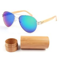 Sonnenbrillen 2021 Handgemachte Männer Bambus außerhalb Sonnenbrille Frauen Marke Designer Holz Gläser Hohe Qualität Unisex Oculo de Sol