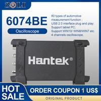 Almacenamiento Digital osciloscopios para PC osciloscopios portátiles USB de 4 canales de 70 MHz ancho de banda del osciloscopio automotriz Hantek 6074BE