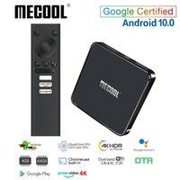 Mecool KM1 ATV Google 인증 안드로이드 (10) TV 박스 Amlogic S905X3 스마트 Androidtv 국무 비디오 4K 듀얼 와이파이 2T2R 셋톱 박스