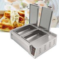 machine de traitement en acier inoxydable boulette / machine à boulette frite / 220 V cylindre double la machine boulette frite fournisseur chinois