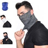 Masque de refroidissement Cyclisme été Masques Neck Gaiter Écharpe visage anti-poussière Protection UV respirant pour la pêche Randonnées Courir