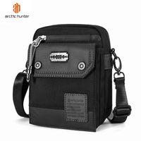ARCTIC HUNTER 2020 Men Outdoor Leisure Shoulder Bags Multifunction Crossbody Bag Retro Light Business Short Trip Sling Bag Pack