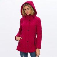 Capas de lana de cordero Casual Mujeres Ropa de Invierno diseñador de las mujeres de moda abrigos Medio Largo Soid color espesado Calentar Faux