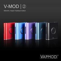 100% original Vapmod VMOD V Mods 2 Batería Haptic Feedback Edition 2.0 II V2 Precaliente VV 510 Cartucho DHL gratis