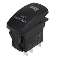 LED de haute qualité Light Bar à bascule Commutateur à bascule SPST 5Pin pour Voiture Bateau Camion