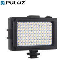 Lampeggia Pulluz 104leds Pografia Video PO Studio Light con Pannello Bianco Arancione Magnete Panel per, DSLR Telecamere