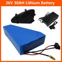 36V 1500W Dreieckbatterie 36V 30Ah Electric Bike 36V Lithium-Ion-Akku mit Tasche INR18650 29E Zelle 42V 5A Ladegerät