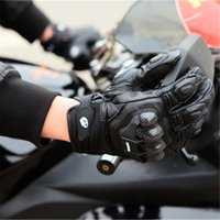 Furygan AFS6 Motorcycle Gloves Summer Full Finger Cool Moto Road Racing gloves Carbon Fiber Leather Motorbike gloves Protective gear