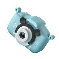 20MP Bambini Bambini Digital Video Camera Camcorder 2,0 pollici IPS Lenti doppia fotocamera schermo con cinghia cavo di ricarica per Childs