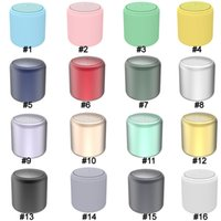 Mini altavoces TWS Inpods LittleFun Bluetooth USB subwoofer Portable Extra Bass Stero Impermeable Macarron Plating Lindos 16 colores