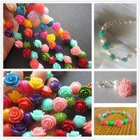 10/12 / 15mm Rose Corail naturel Pierre Perles bricolage Charms fleurs Spacer Perles de bijoux de corail Faire Collier Bracelet