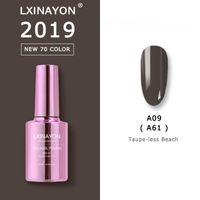 New 70 Color UV nail gel polish color gellak for Manicure Top Base coat glitter gel nail polish semi-permanent varnish