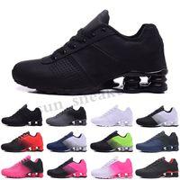 MAX SHOX 809 803 R4 Nova chegada Entregar SHO 809 triplos branco que funciona sapatos pretos para cinzento preto ENTREGAR OZ NZ Mens Fashion Trainers Sneakers RG06