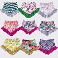 28 Styles bébé Filles Paillettes Shorts Enfants Glitter Pantalons Shorts Pantalons bling danse Boutique Princesse Bow Shorts Mode Vêtements pour enfants M2714