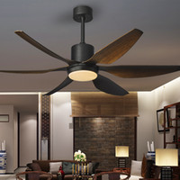 DC frequency conversion ceiling fan lamp living room dining ...