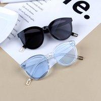 GLAUSA nagelneuen der Kinder Sonnenbrille Kinder arbeiten große Feld-Sun-Glas-Mädchen-Jungen-Brillen Spielraum-Augen-Zubehör Cateye Netter uv400