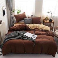 Materiali di nuovo arrivo Insiemi dell'assestamento 3 pezzi Bed Suit copripiumino federa Designer casa Biancheria da letto in azione