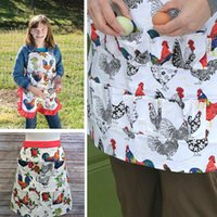 S M L Pockets Egg Collecting Harvest Apron Chicken Farm Work Aprons Carry Duck Goose Egg Collecting Farm Apron For Chicken Farmer DBC BH4081