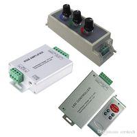 LED RGB Yükseltici / PWM Dimer / RF Kontrol giriş DC 12V 24V 24A MAX 2835 5050 ışıkları