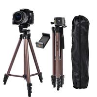 FOSOTO WT3130 Profesyonel Alüminyum Mini Tripodlar Kamera Tripod Standı DSLR Dijital Kamera Telefonu Için Telefon Tutucu Ile Smartphone LJ200907