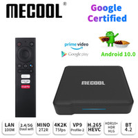 Mecool KM1 Android10.0 Google Certified Android 10.0 TV Box 4GB 64GB Amlogic S905X3 Voice Input Steuer Youtube 4K Set-Top-Box 4G 32G