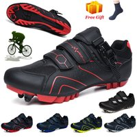Professional Cycling Sneakers MTB Shoes Men Women Outdoor Self-locking Mountain Bicycle Shoes Racing Sneakers Road Bike