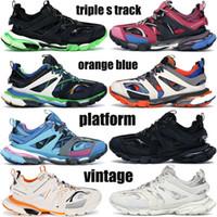 최고 품질의 테스 S 캐주얼 신발 파리 트리플 S 3.0 Gomma Mens Womens Chaussures 스니커즈 트리플 화이트 핑크 플랫폼 야외 신발