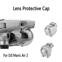 Kamerablenkabendekappe Schutzhaube Schutzabdeckung DJI Mavic Air 2 Zubehör-Gimbal-Lock-Stabilisator-Kamera-Objektiv-Kappe für DJI-Mavic Air 2