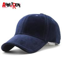 Tappi a sfera [Aubreirene] 2021 Brand 100% cotone berretto da baseball da uomo cappelli sportivi cappelli polo Z-3023