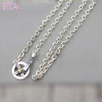 Новые 925 стерлингового серебра модные аксессуары орел крюк перья рог ожерелье тайских серебра ожерелье мужчин