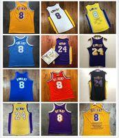 HomensLosangelesLakers.Kobe.BryantMitchell Ness 1996-97 2000-01 2008-09 Hardwoods Classics Jogador Jersey