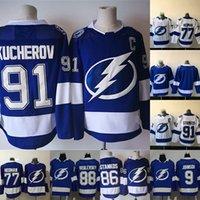 91 Steven Stamkos Tampa Bay Lightning 86 Nikita Kucherov 88 Andrei Vasilevskiy 27 Ryan McDonagh 9 Tyler Johnson 77 Victor Hedman Jersey