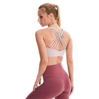 Supply of Goods New Style Solid Color Fitness Beauty Back Sports Camisole Yoga Vest Summer Cross Underwear