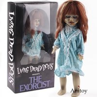 Mezco Living Dead Dolls Presents The Exorcist Horror Film Action-Figuren Pvc Sammler Modell Spielzeug-Halloween-Geschenk Y200919