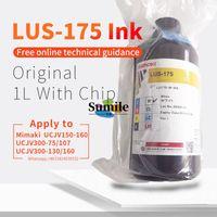 1000ml original Mimaki LUS175 / LUS175 LED UV de tinta para UCJV150-160, UCJV300-160 Impresora / trazador con chips