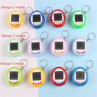 Elektronik Pet Oyuncak Retro Oyun Oyuncak Evcil Mini Komik Oyuncak Anahtarlık Vintage Sanal Hayvan Siber Oyuncak Tamagotchi Dijital Pet İçin Çocuk Çocuk Oyun