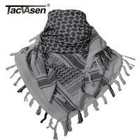 Schals Tacvasen Männer Schal Taktische Wüste Arab Keffiyeh Camouflage Kopf Frauen Arabische Baumwolle Paintball Gesichtsmaske