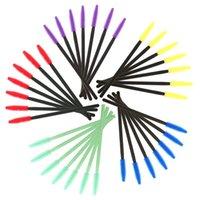 메이크업 브러쉬 50pcs 실리콘 일회용 마스카라 Wands 속눈썹 확장 도구