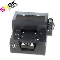 Drucker Multifunktions-A4UV-Drucker, Mobiltelefon-Shell-PO-benutzerdefinierte Maschine, geprägter Effekt, weiße Tinte flache Material druckbare Maschine