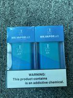 Free Shipping! NEWEST MR VAPOR air Newst Disposable Device Puff Disposable Vape Device Pod Puff Pod Starter Kit 280mAh Battery