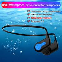 K3 Bluetooth auriculares K3 FAST Player MP3 IP68 impermeable 16GB Auriculares inalámbricos Natación Deporte Auriculares HIFI Altavoz para PC del teléfono